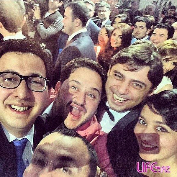 Женился известный азербайджанский актер и телеведущий