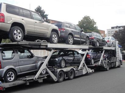 Азербайджан в январе-феврале более чем на 6% снизил импорт автомобилей