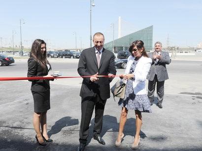 Президент Ильхам Алиев и его супруга приняли участие в открытии Национально ...