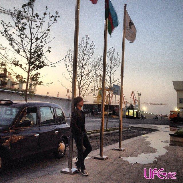 Победитель конкурса «Евровидение» прибыл в столицу Азербайджана