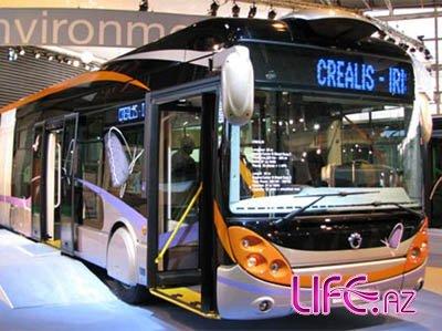 Из Франции в Баку привезут 151 автобус