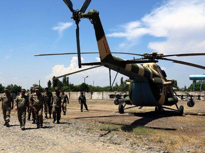 Азербайджанская армия проводит крупномасштабные учения в прифронтовой зоне