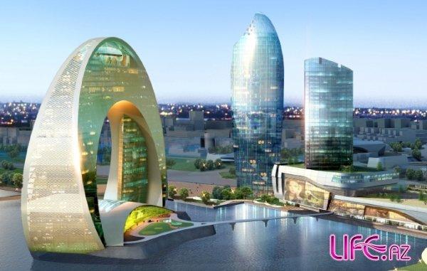 В Баку идут работы по созданию  нового  центрального района