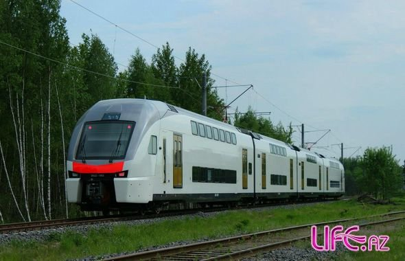 В скором времени начнет курсировать скоростной поезд Баку-Гянджа