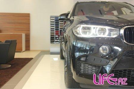 Открытие нового автосалона BMW в Баку