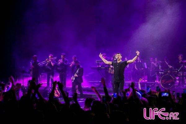 Очередной аншлаговый концерт EMIN'а в Баку