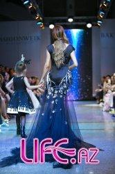 Кенуль Азизова стала главной моделью показа азербайджанского модельера