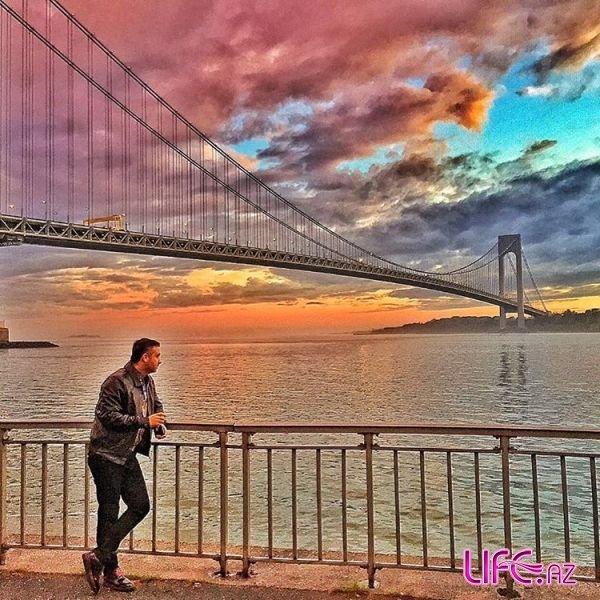 В Нью Йорке азербайджанский певец обиделся на танцовщицу