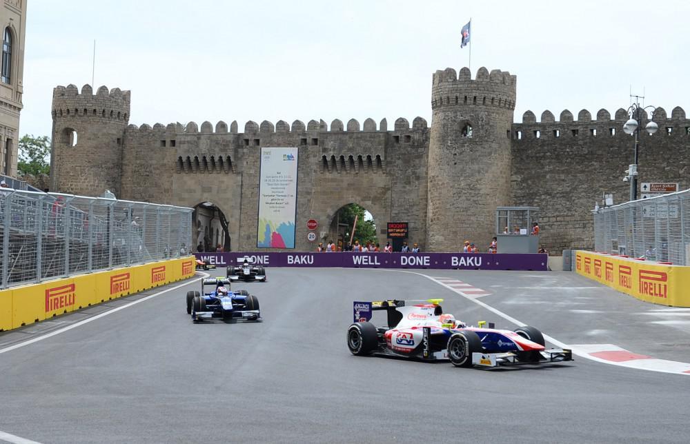 Контракт на проведение Гран При Азербайджана