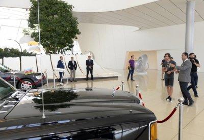 Фернандо Алонсо посетил Центр Гейдара Алиева