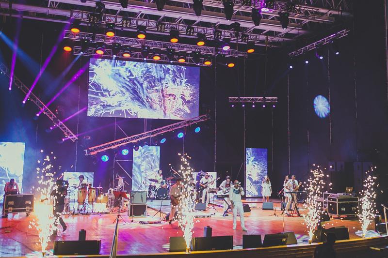 Мири Юсифа выступил концертом в Зеленом театре