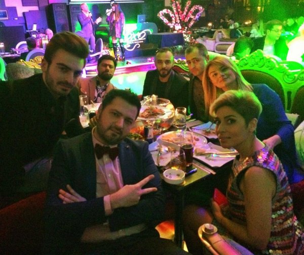 Айгюн Кязымова отметила день рождения с коллегами