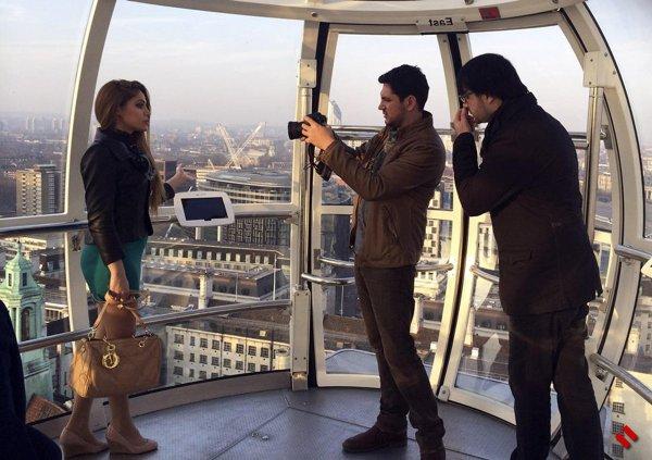 Путешествие в Лондон вместе с Нигяр Джамал