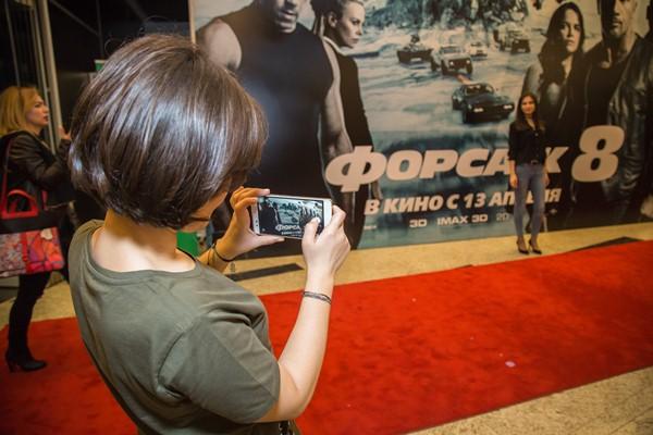 Состоялся пресс-показ фильма «Форсаж 8» в IMAX