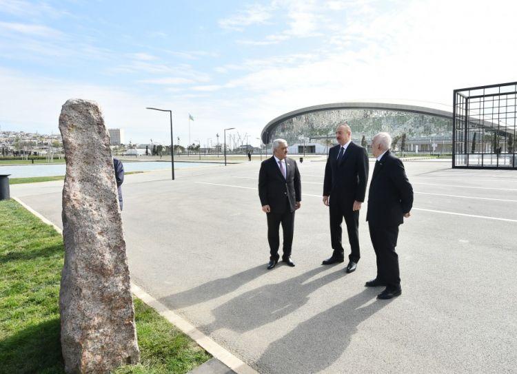 Президент ознакомился с первой в мире промышленной скважиной на месторождении