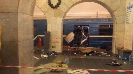 Взрыв в метро Санкт-Петербурга: погибли 10 человек