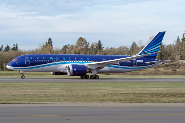 AZAL покупает четыре самолета Boeing 787 Dreamliner на 918 млн. долларов