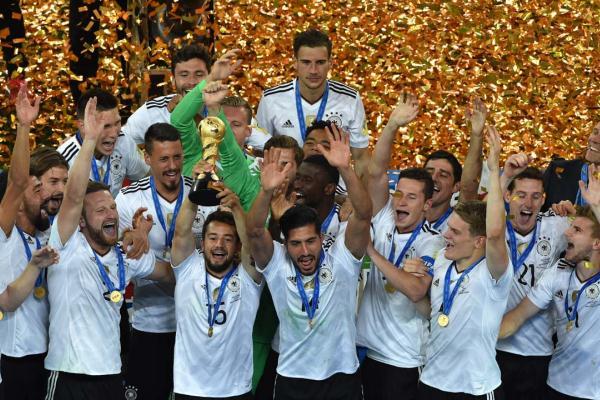 Германия обыграла Чили и получила Кубок конфедераций