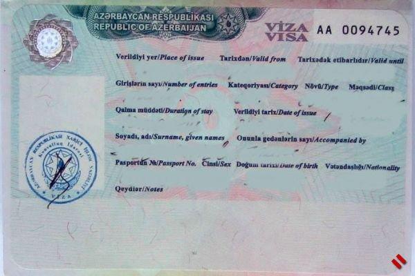 Электронную визу в Азербайджан можно получить в течение 3 часов