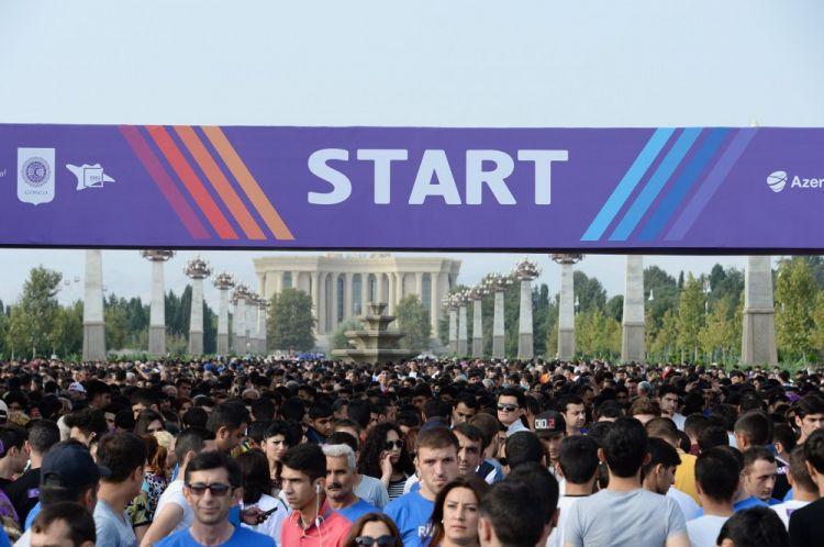 В Гяндже прошел марафон