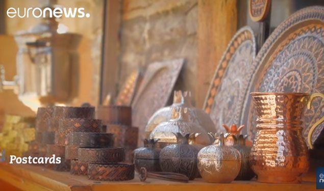 """""""Euronews"""" telekanalı Azərbaycanın Lahıc şəhərinə həsr olunmuş reportaj təqdim edib"""