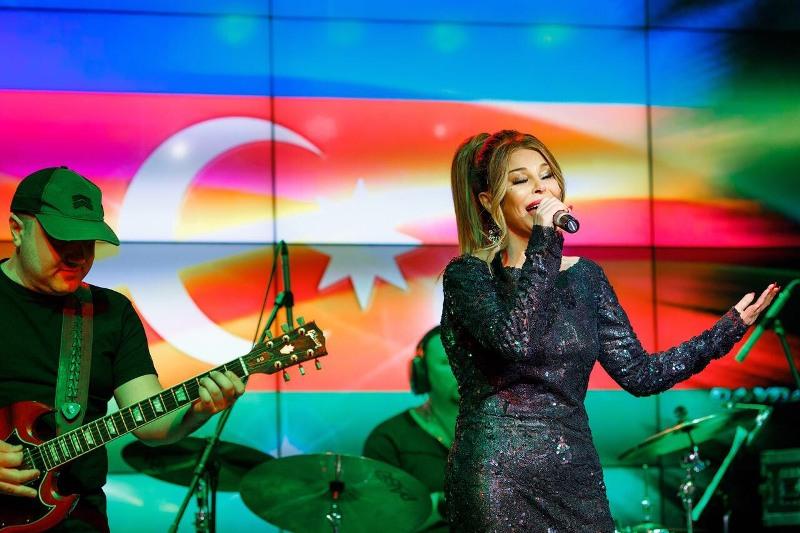 Айгюн Кязимова выступила с концертом в Минске
