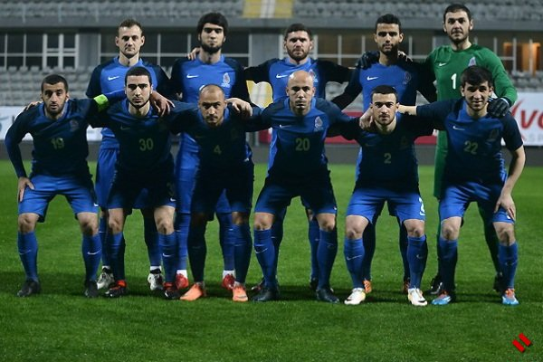 Сборная Азербайджана проиграла Беларуси