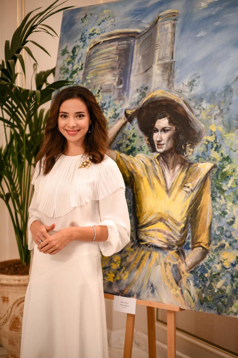 Неповторимый Азербайджан в работах азербайджанской художницы на персональной выставке в Париже