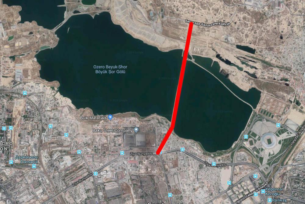 В Баку откроются две новые важные дороги [Карта]
