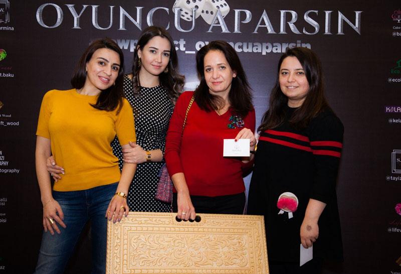 В Баку прошел турнир по длинным нардам среди женщин