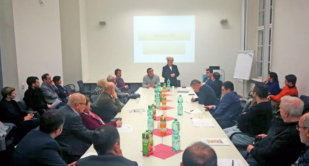 Berlin Humboldt Universitetində Azərbaycana dair kitabların təqdimatı olub
