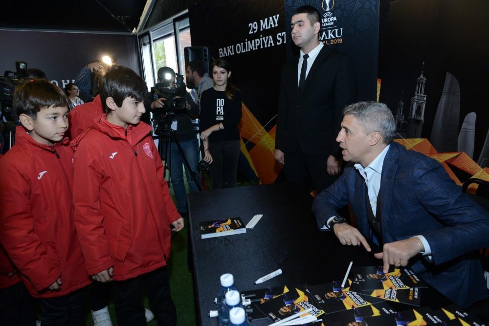 В Баку состоялось официальное открытие музея, посвященного Лиге Европы УЕФА