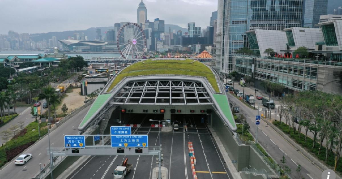 В Гонконге открыли шестиполосный автомобильный тоннель за $4,6 млрд