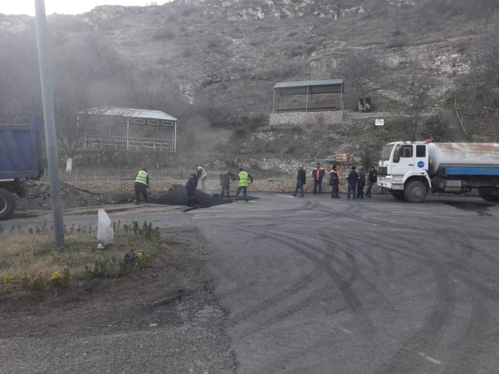 К пещере Дамджылы проводится новая дорога