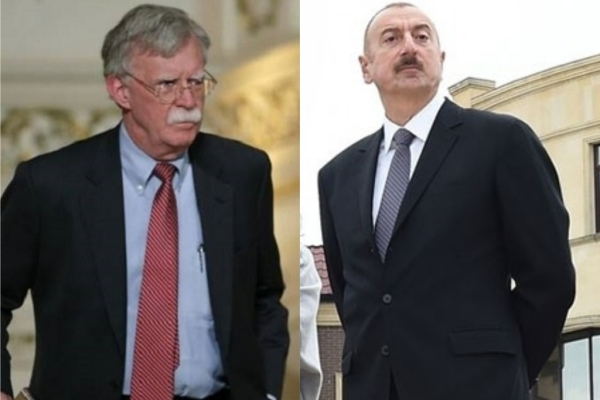 Советник Президента США по вопросам национальной безопасности позвонил Президенту Азербайджана