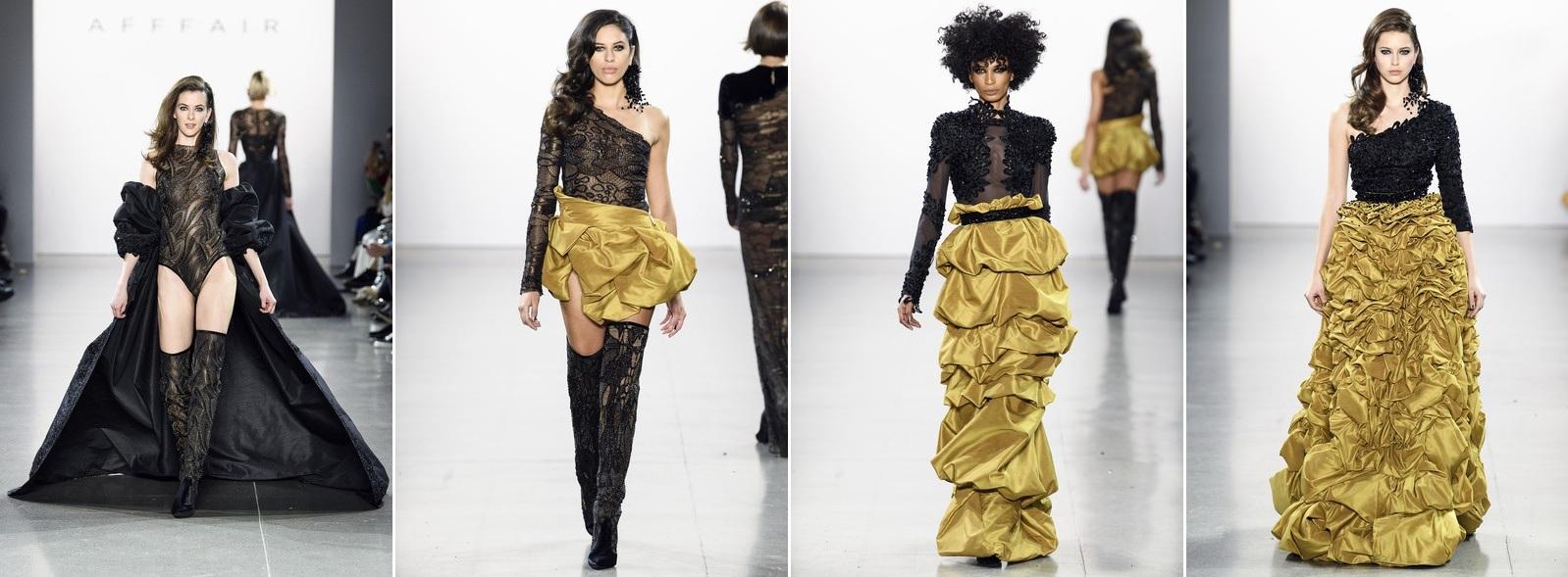 Азербайджанский дизайнер представил коллекцию «Эффект бабочки» на подиуме Недели моды в Нью-Йорке