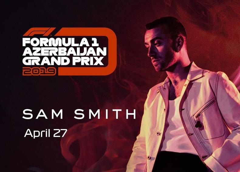 Сэм Смит объяснил, почему не смог прилететь в Баку на Формулу 1
