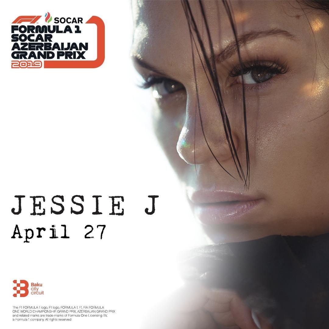 Джесси Джей выступит в Баку