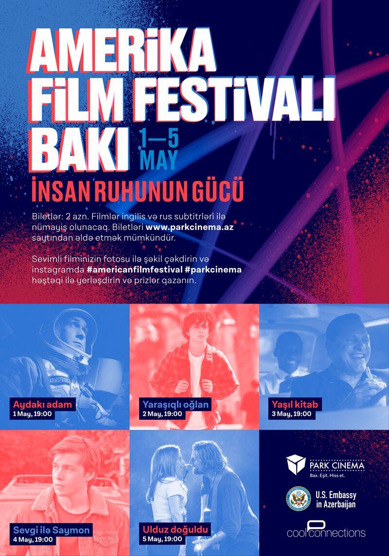 В Баку состоится фестиваль американских фильмов «Сила Человеческого Духа»