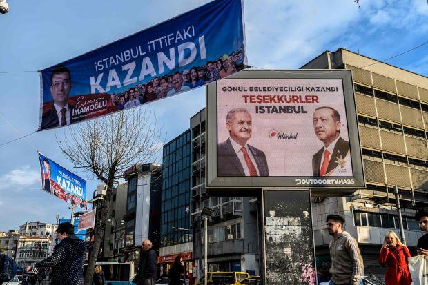 Кандидат от оппозиции побеждает на повторных выборах мэра Стамбула