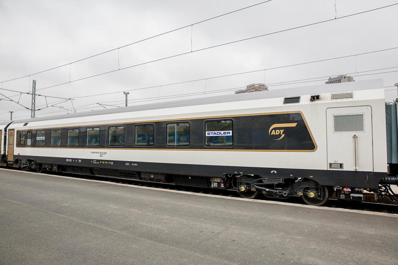 Запускается пассажирский поезд из Баку в Турцию