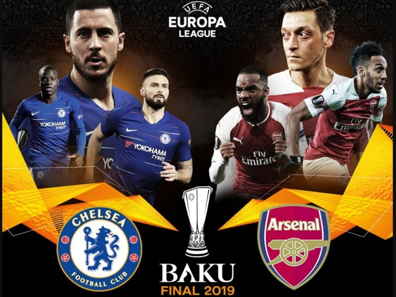 «Арсенал» и «Челси» сыграют в финале Лиги Европы в Баку