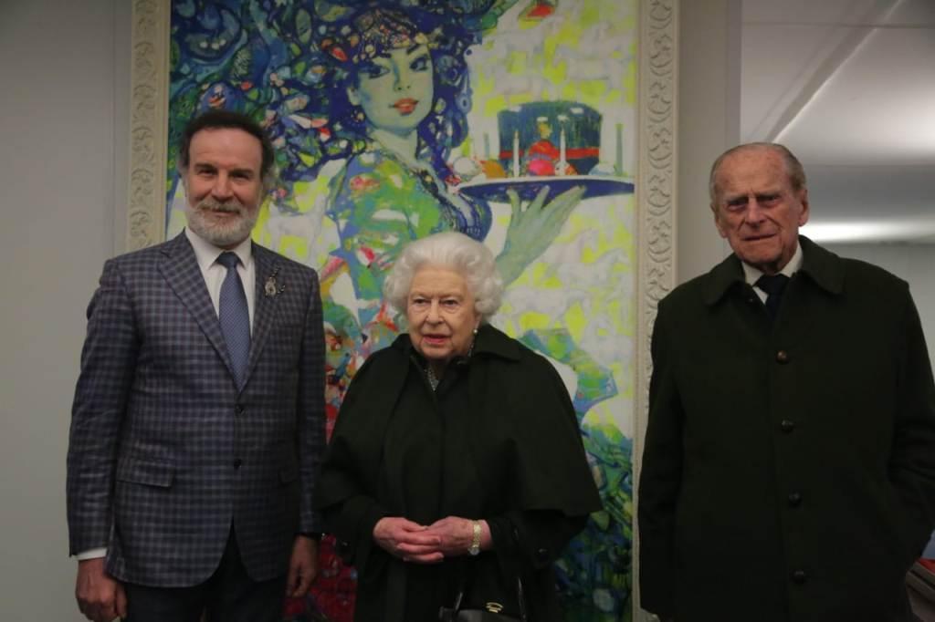 Шоу-композиция карабахских скакунов вызвала большой интерес у королевы Великобритании