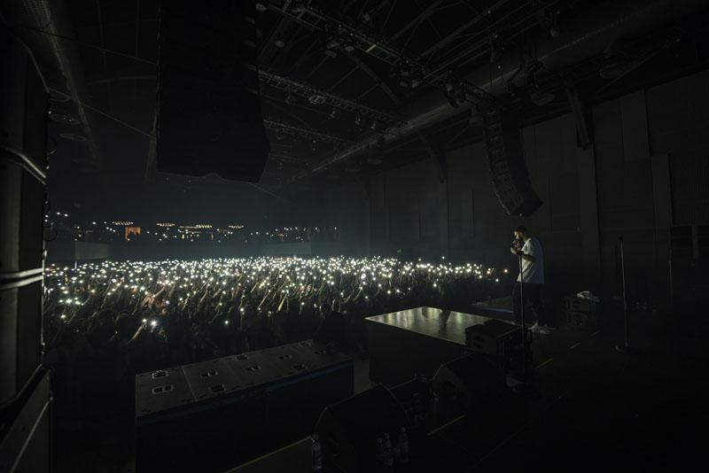 Зажигательный концерт HammAli & Navai в Баку