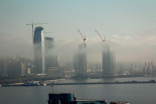 Названы зоны Баку с наиболее загрязненным воздухом