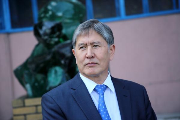 Экс-президент Кыргызстана Атамбаев задержан