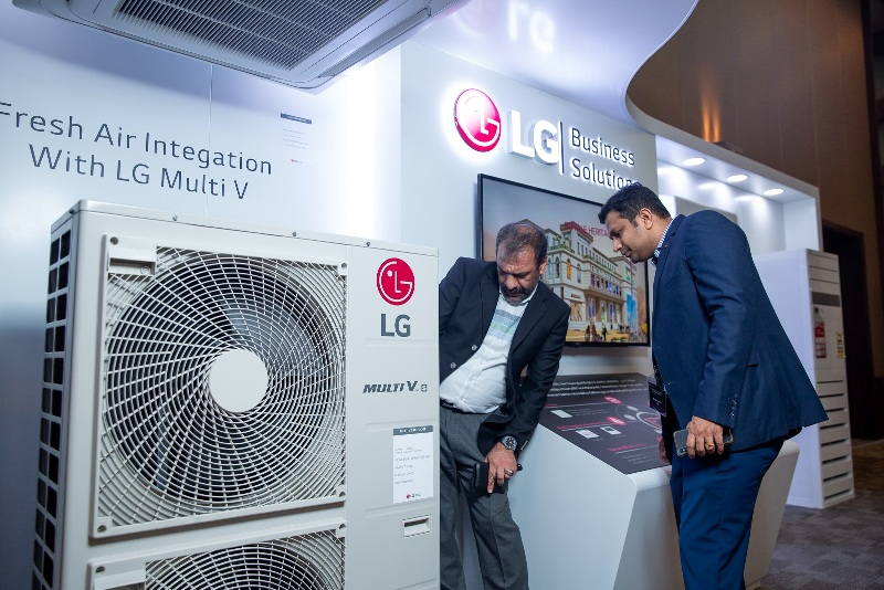 Компания LG объявила о предстоящем выпуске своих решений MULTI V 5