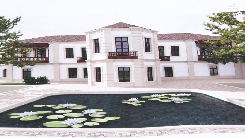 Наконец ремонтируется дом Гаджи Зейналабдина Тагиева в Мярдаканах