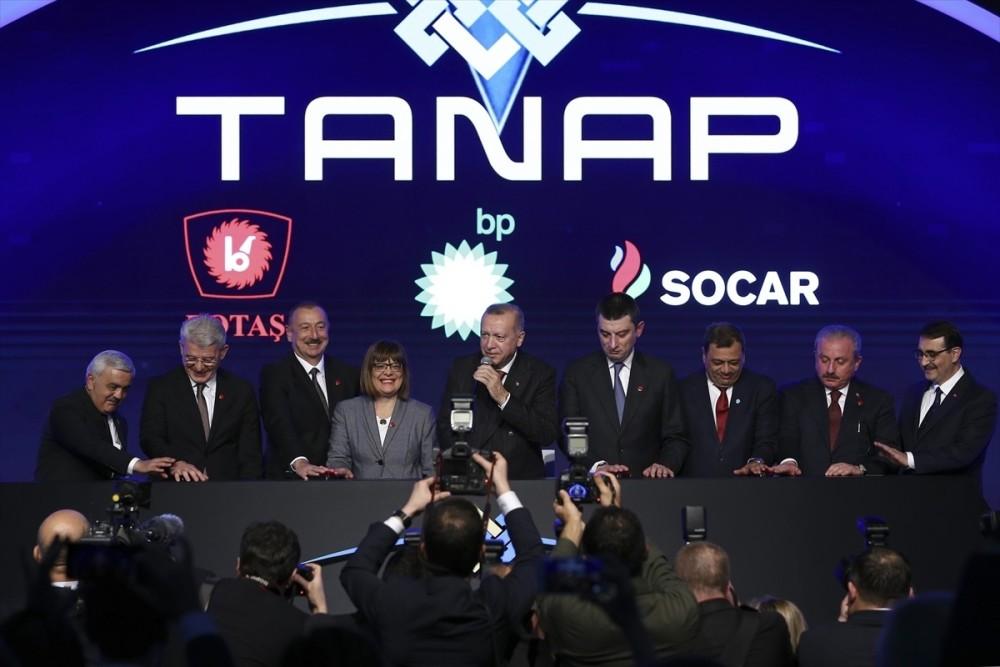 Состоялась церемония открытия соединения TANAP с Европой