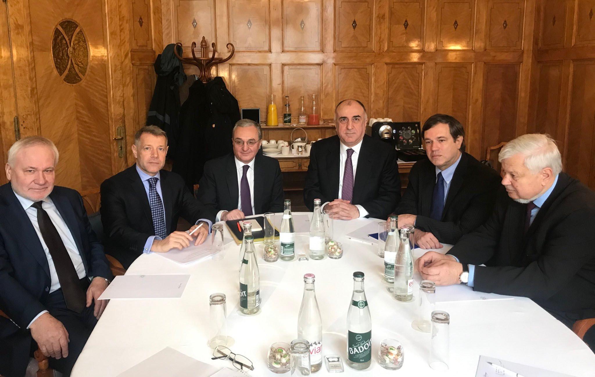 В Женеве завершилась двухдневная встреча министров иностранных дел Азербайджана и Армении